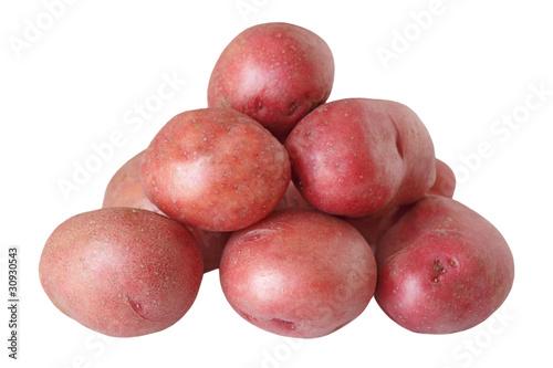 Fotografie, Obraz  Red Potatoes