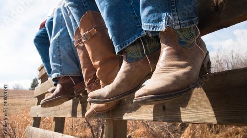 Vászonkép  Cowboy Boots