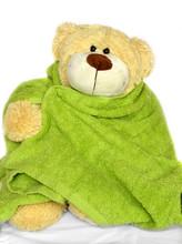 Teddy Bear With Towel