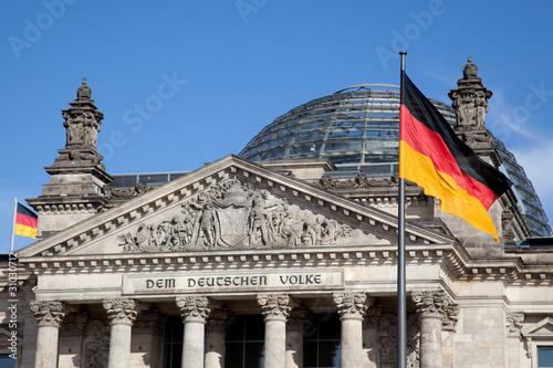 Foto op Aluminium Berlijn Reichstag