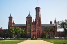 Smithsonian Castle In Washingt...