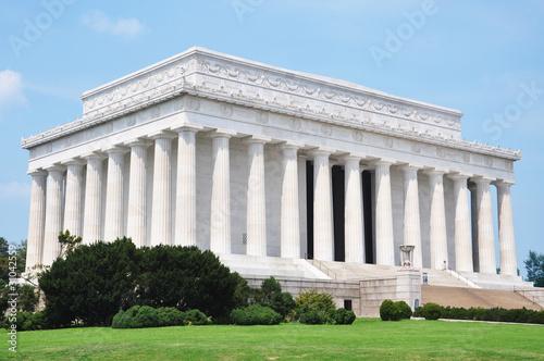 Fotografia  Lincoln Memorial in Washington DC, USA