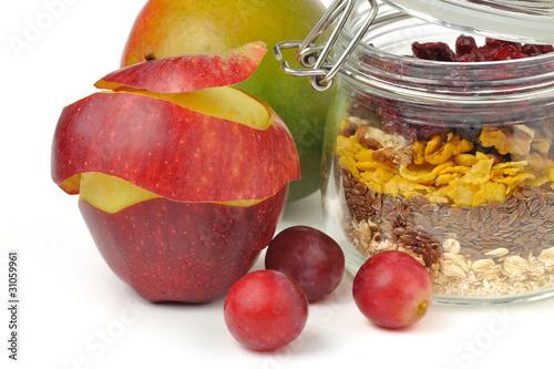 Fototapeta zdrowe i pożywne śniadanie obraz