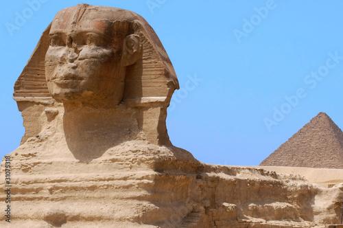 In de dag Egypte The Great Sphinx of Giza, Egypt