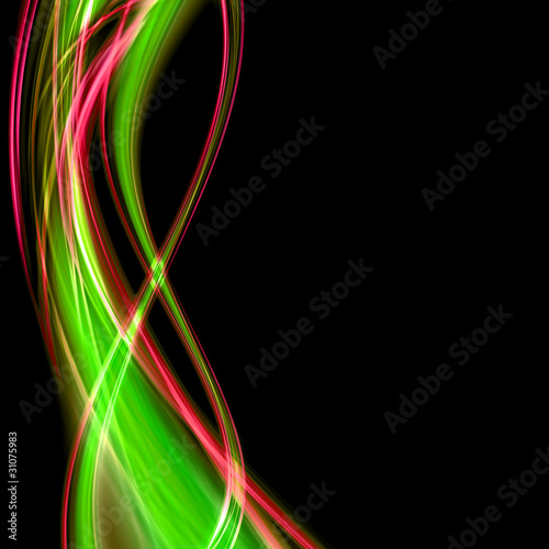Door stickers Psychedelic abstract elegant background design with space for your text