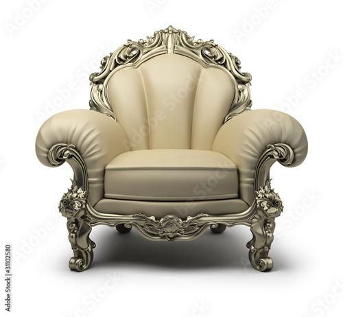 luxurious armchair Wallpaper Mural