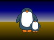 Single parent penguin