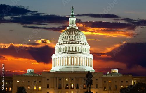Fototapeta United States Capitol Building obraz