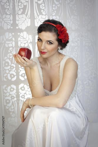 Fotografie, Obraz  Snow White