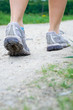 Walking exercise in spring