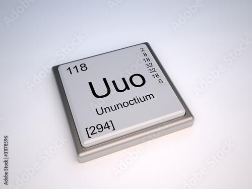 Ununoctium uuo chemical element of the periodic table buy this ununoctium uuo chemical element of the periodic table urtaz Gallery