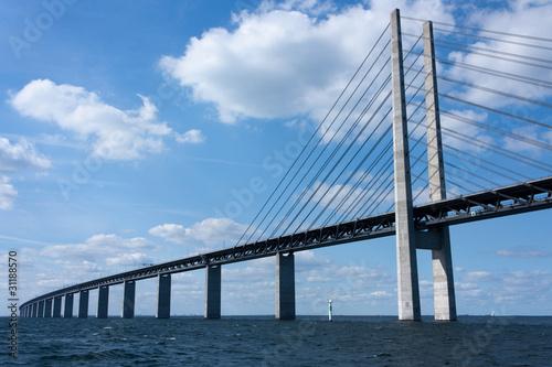 Foto op Canvas Brug Öresund Brücke