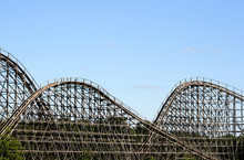 Wooden Roller Coaster 02