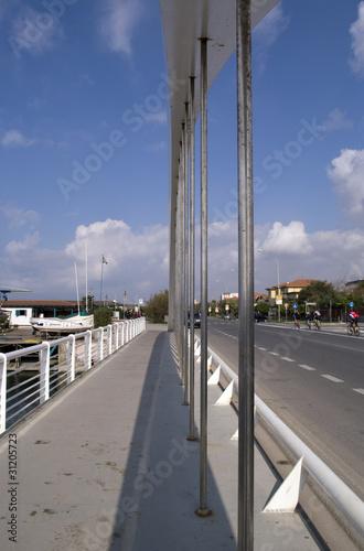 Keuken foto achterwand Route 66 Ponte a Marina di Massa