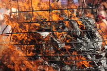 Feuer, Flamme, Asche, Brand, Glut
