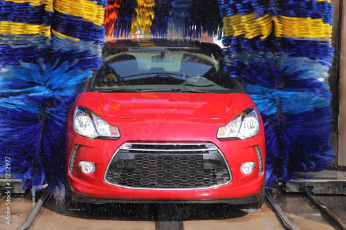 anonymous car wash Canvas-taulu