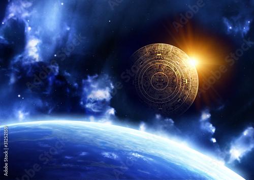Plakaty ziemia proroctwo-majow