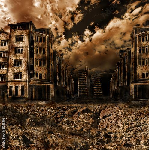 Fotografía  apocalyptic landscape