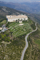 FototapetaVista aerea abbazia di Montecassino