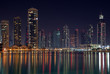 Modern night city
