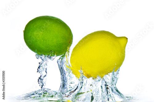 Recess Fitting Splashing water citrus fruit splashing