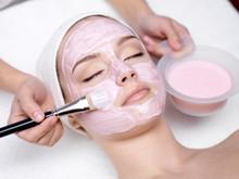 Girl Receiving Cosmetic Pink F...