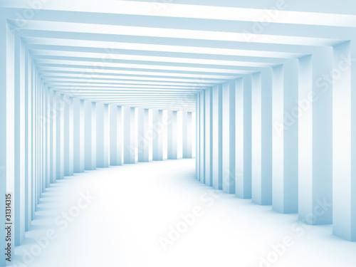 tunel-z-kolumnami