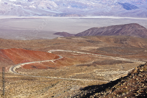 Views from Father Crowley Point in Death Valley Poster