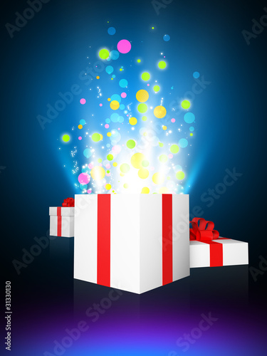 Magic glow gifts Poster