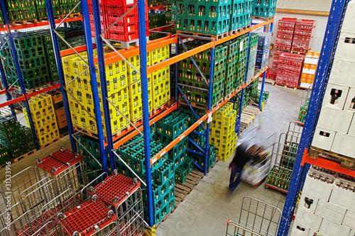 Fotografie, Obraz  high rack for beverages