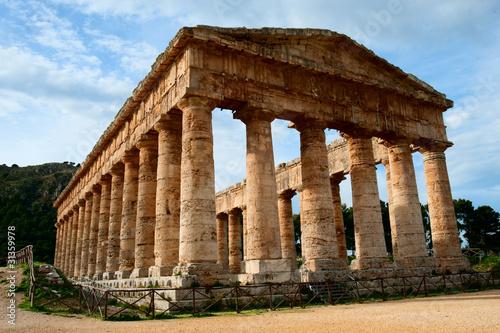 Fototapeta Tempio di Segesta