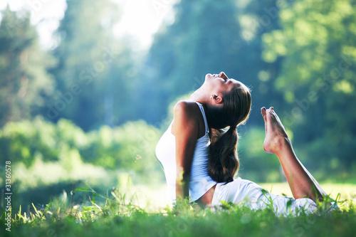 Fototapety Sport  yoga