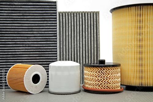 Fotografía  various car filters