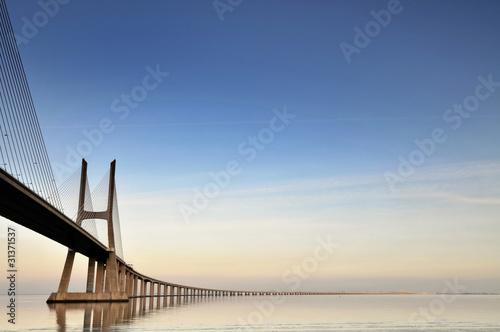 Keuken foto achterwand Bruggen Bridge