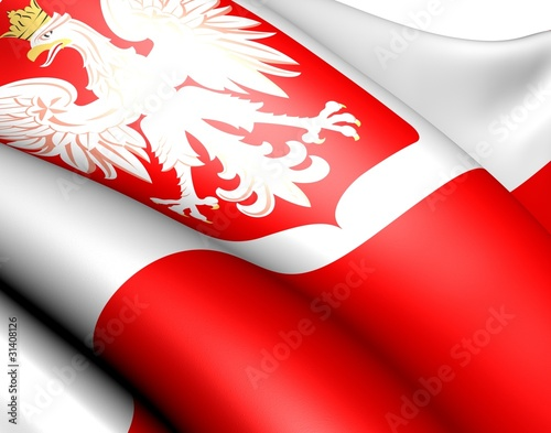Fotografía  Flag of Poland