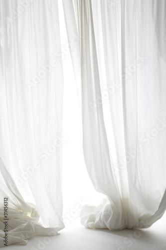 Fotografie, Obraz  white curtain
