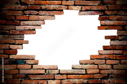 Foto op Plexiglas Wand porous wall for background