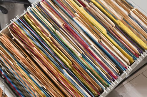 Fotografie, Obraz  Colorful Files