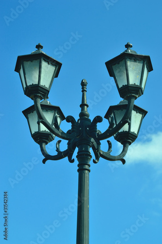 Fototapeta the light stand obraz na płótnie