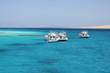 Boote am Roten Meer