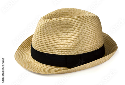 Fotografía  Summer panama straw hat