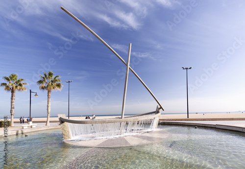 Playa de la Malvarrosa (Valencia)