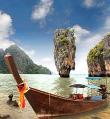 Panel Szklany Orientalny James Bond Island, Phang Nga, Thailand
