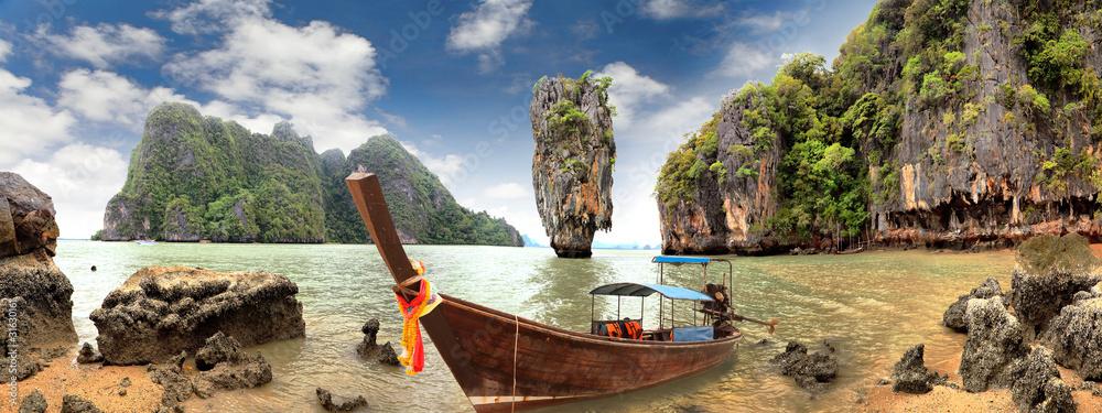 Fototapeta James Bond Island, Phang Nga, Thailand
