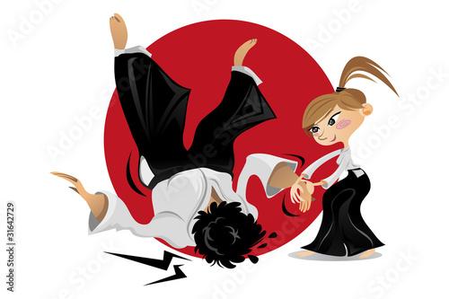 Photo  Aikido Martial Art