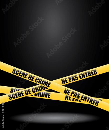 Photo Scène de crime