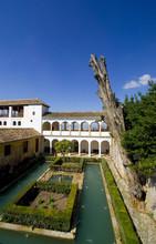 Patio De La Sultana - Generalife - Granada - Spanien