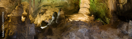 Fotografie, Tablou Hall of Giants, Carlsbad Caverns, NM