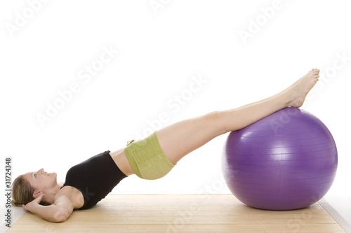 Tuinposter Gymnastiek Gymnastik