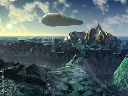 prom-kosmiczny-nad-ruinami-miasta-alien